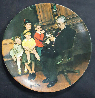 $ CDN14.77 • Buy 1992 Knowles Norman Rockwell The Family Doctor Collectors Plate