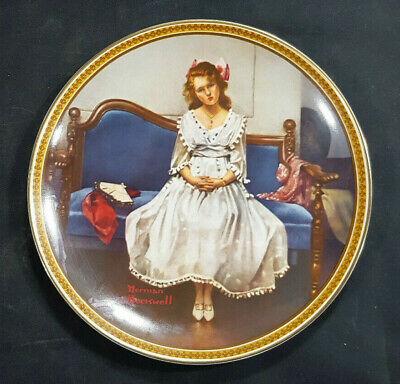 $ CDN14.77 • Buy Knowles  Waiting At The Dance  By Norman Rockwell Rediscovered Women Plate