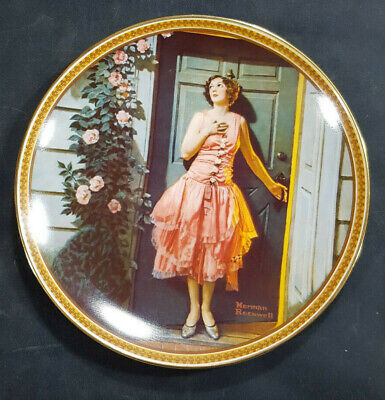 $ CDN14.77 • Buy 1983 Norman Rockwell Rediscovered Women #7 Standing In The Doorway Plate Knowles