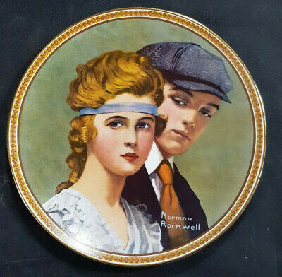 $ CDN14.77 • Buy Norman Rockwell Rediscovered Women Meeting On The Path Knowles Collector Plate