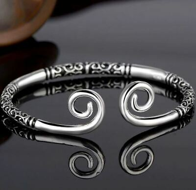 Viking Open Bracelet Norse Gothic Fashion - UK Seller • 7.99£
