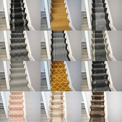 Very Long Narrow Hallway Hall Runners For Stairs Carpet Extra Big Rugs Mat Cheap • 21£