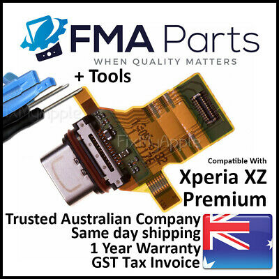 AU21.95 • Buy Sony Xperia XZ Premium OEM Dock Connector Charging Port Flex Cable Replacement