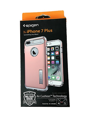 AU32.77 • Buy IPhone Case By Spigen IPhone 6+, 6S+ And 7+ Plus Rose Gold & Champagne NIB