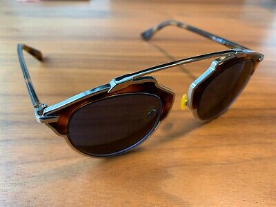 Christian Dior - Dior So Real Sunglasses Frames - Brown Tortoiseshell And Silver • 100£