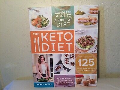 $13 • Buy The Keto Diet Cookbook Leanne Vogel EXC Paperback Over 125 Recipes