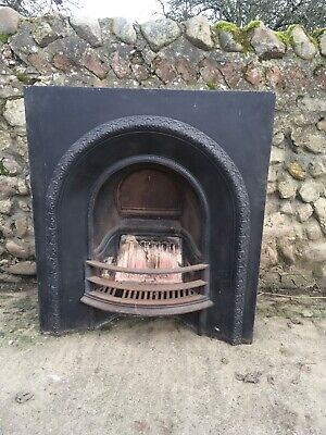 vintage Victorian Style Large Cast Iron Fire Surround- Old Heavy Casting • 67£
