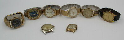 $ CDN143 • Buy Lot Of Eight Vintage Hamilton Mechanical Mens Wrist Watches No Res #7376-4