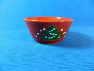 $13.49 • Buy Waechtersbach Red Christmas Tree Small Soup Bowl Dish 5  Diameter ~ EXCELLENT