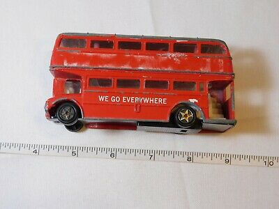 $ CDN27.06 • Buy London Buses  We Go Everywhere  Double Decker Bus Red Stickers Are Missing