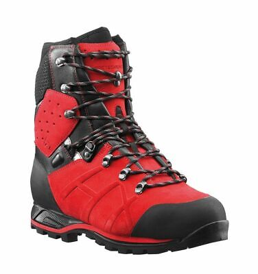 Haix Protector Ultra Class 2 Red Chainsaw Boots-- 60310905 • 200£