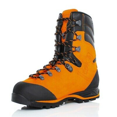Haix Protector Forest Class 2 CHAINSAW Boots In Orange  - 603101 • 189.99£