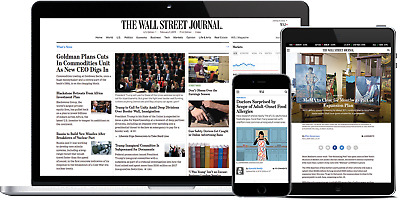 $59.99 • Buy [Trusted US Seller]Wall Street Journal WSJ 2-Year PERSONAL Digital Subscription