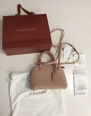 AU134.95 • Buy OROTON Muse Micro Griptop Biscuit In Very EUC Like New With Receipt FREE POST!
