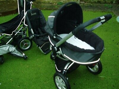 £120 • Buy Quinny Buzz Travel System Pushchair With Moses Basket