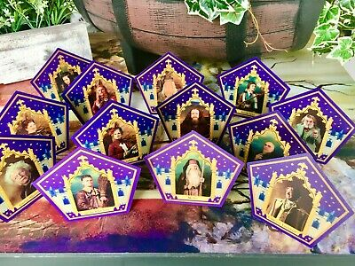 $59 • Buy Harry Potter Chocolate Frog Card - COMPLETE 13 Card Collection With MERLIN