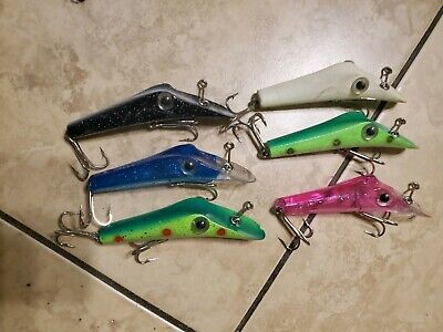 $ CDN12.98 • Buy Lot Of 6 Vintage Ping A T Fishing Lures