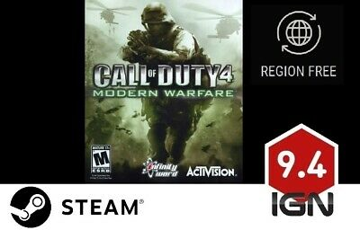 £11.99 • Buy Call Of Duty 4: Modern Warfare [PC] Steam Download Key - FAST DELIVERY