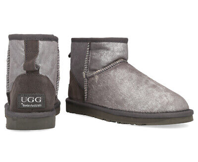 AU14 • Buy Bluestar Women's Premium Australian Sheepskin Ugg Boot - Silver