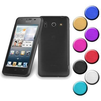 AU8.88 • Buy Silicone Case For Huawei ASCEND G510 Shock Proof Cover Metallic Brushed TPU