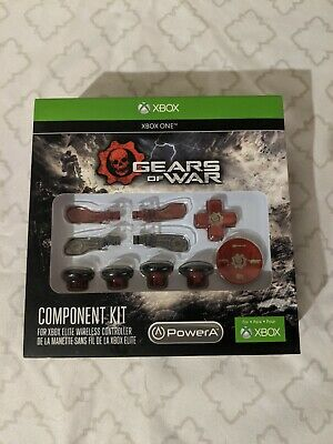 $50 • Buy Xbox One Elite Controller Powera Gears Of War Component Kit