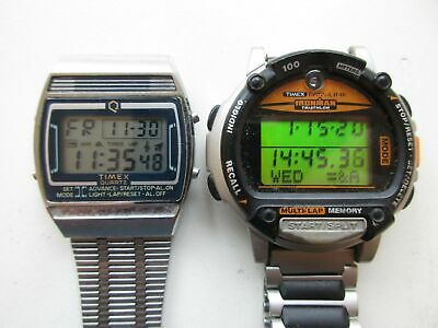 $ CDN9.79 • Buy Lot Of 2 Timex - One Ironman - Men's Watches