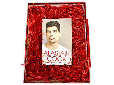 AU54.10 • Buy Valentines Day For Him SIGNED ALASTAIR COOK Autobiography GIFT BOX Valentine