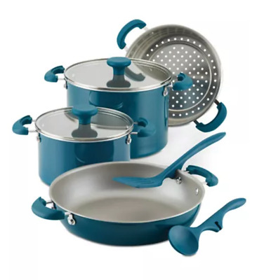 $75 • Buy Rachael Ray Create Delicious Stackable Nonstick 8-Pc. Cookware Set