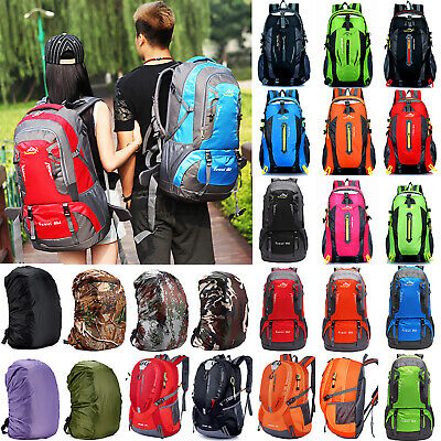AU14.99 • Buy 40-80L Backpack Hiking Bag Camping Travel Waterproof Pack Sport Outdoor Rucksack