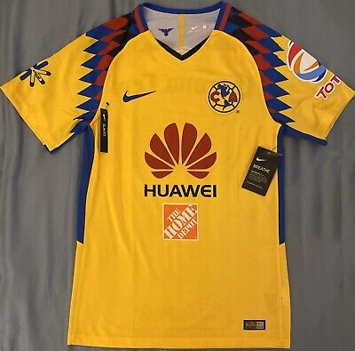 $100 • Buy Nike Club America AUTHENTIC Home Socce Jersey. Adult Size: Small
