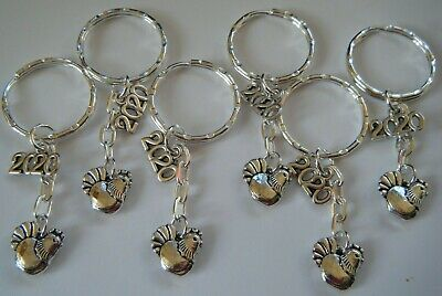 6 Hen Party 2020 Gifts Keyrings Favours Hen Do Keepsake Prizes Accessories   • 4.50£