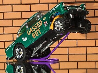 """$21.55 • Buy Hot Wheels 55 Chevy Gasser """"Gassed Out"""" CUSTOM-PAINT-Decals-RR-FREE SHIP"""