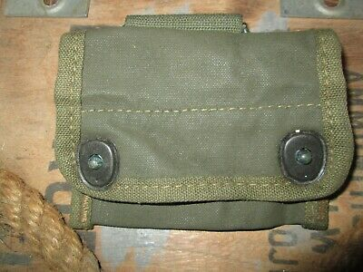 $59.96 • Buy WWII  WW2 COMPASS Pouch Case US ARMY USMC ORIGINAL Paratrooper AIRBORNE 82nd