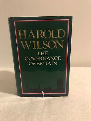 £125 • Buy The Governance Of Britain By Harold Wilson (Signed)