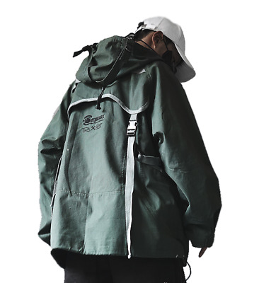 $ CDN100 • Buy (large) Augmented Cyberpunk Jacket - Asian Streetwear Techwear