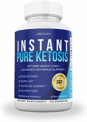 $5.50 • Buy Instant Keto Pills - Advanced Weight Loss Diet Pill With Ketosis, 60 Caps ✔️✔️✔️