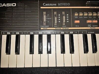 $18.55 • Buy Casiotome MT 100 Casio Keyboard Used , Tested Worked Perfect