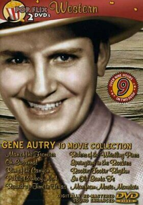 Gene Autry: 10 Movie Collection - 2 Disc DVD Set - 2006 - Black And White - New • 12.96£