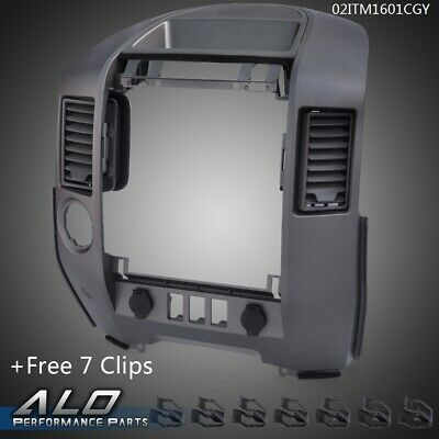 $62.50 • Buy For Nissan 2004-2006 Titan/armada Center Dash / Radio Ac Bezel -w Spkr Bezel