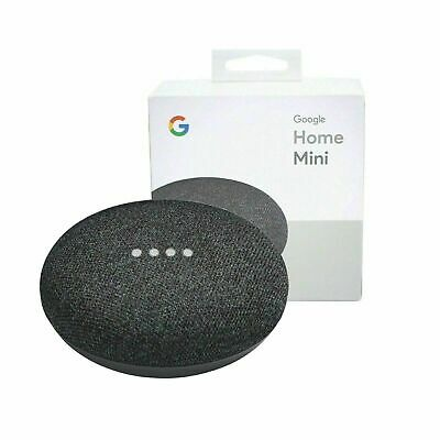 AU40 • Buy Google Home Mini Smart Assistant - Charcoal BRAND NEW IN BOX NEVER OPENED