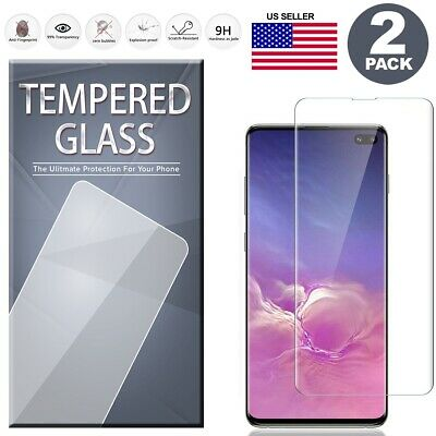 $ CDN6.32 • Buy 2 PCS Full Tempered Glass Screen Protector For Samsung S10 S9 S8 Plus Note 9 8
