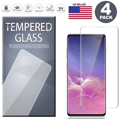 $ CDN9.53 • Buy 4 PCS Full Tempered Glass Screen Protector For Samsung S10 S9 S8 Plus Note 9 8