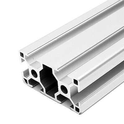 Stand Tools 20 Series 20 mm x 20 mm T-Slot Black Anodized Aluminum Extrusion x 750 mm Pack of 4