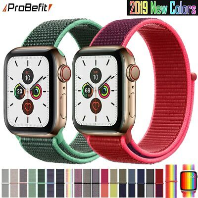 $ CDN4.38 • Buy Band For Apple Watch Series 3/2/1 38MM 42MM Nylon Soft Breathable Replacement