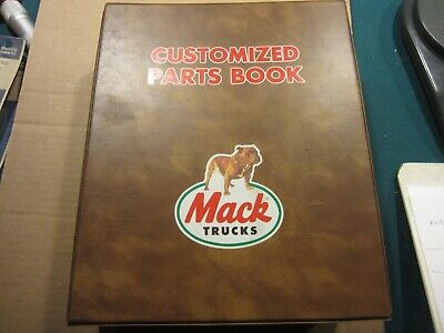 $100 • Buy Mack CH613 Parts Catalog Serial 28283 To 28284