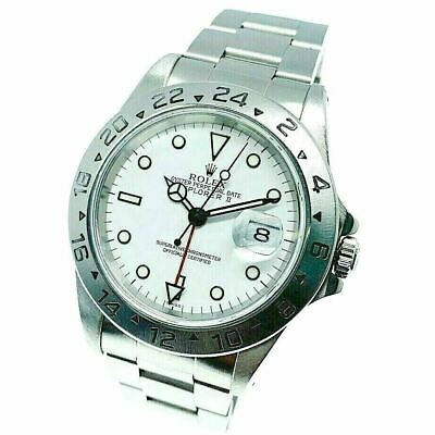 $ CDN11447.46 • Buy Rolex 40MM Polar Explorer II Stainless Watch Ref # 16570 A Serial 1999