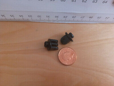 3052 Playmobil 2 New Hinges Small 2  + 3 Pins And Plug For Space Shuttle 6196 • 2.90£