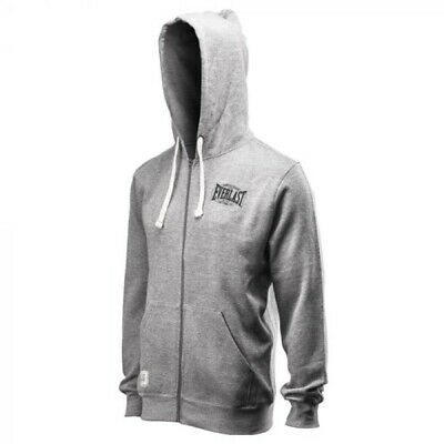 $25 • Buy Everlast Full-Zip Hoodie; Men's XL; Grey; New With Tags; Runs Small; (Boxing)