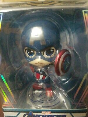 $ CDN31.74 • Buy Marvel Hot Toys Avengers END GAME Captain America Shield Cosbaby