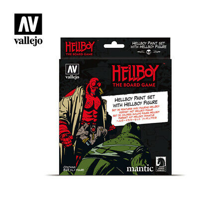 AV Vallejo 70187 Model Color Set Hellboy 8 X 17ml Paints & Resin Figure • 28.75£